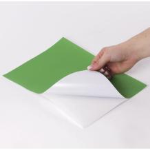 Этикетка самоклеящаяся 210х297 мм, 1 этикетка, зеленая, 70 г/м2, 50 листов