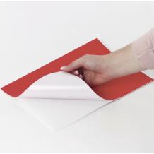 Этикетка самоклеящаяся 210х297 мм, 1 этикетка, красный, 70 г/м2, 50 листов