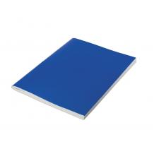 Тетрадь общая синия А4 96 листов, клетка, на скрепке