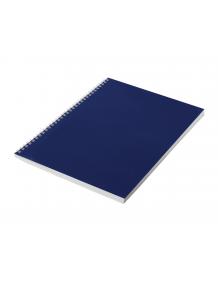 Тетрадь общая синия А4 96 листов, клетка, на спирали